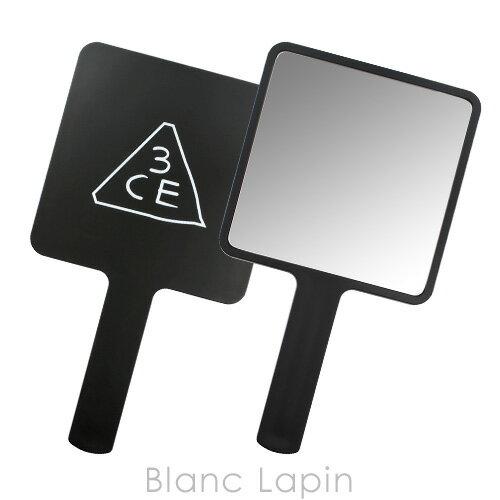 スリーコンセプトアイズ 3CE スクエアハンドミラー #BLACK [990315]