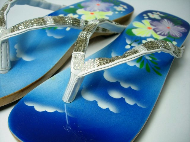 Vietnam sandals Deep Blue