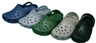 In the two-legged over! Mens size EVA Sandals Crocs type