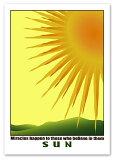 A2サイズ ポスター 【Sun】インテリア/アート/風景/太陽