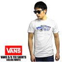 VANS/バンズ 半袖Tシャツ OTW LOGO FILL オフ・ザ・ウォール ホワイトUSA VANS 黒 バンズ ヴァンズ tee shirt 春 夏 半袖 2016モデル USVANS bans オールドスクール ハーフキャブ era VN0002O0J5Q