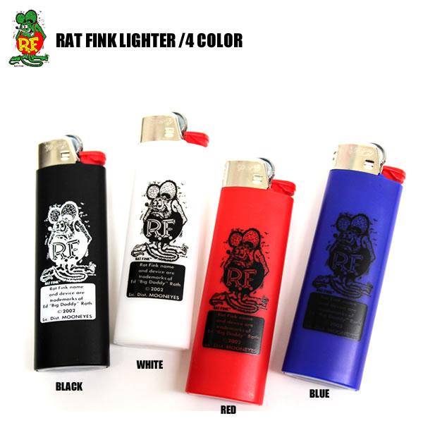 待望の再入荷!RATFINK / ラットフィンク ライター 4カラー ブラック ホワイト レッド ブルータバコ エドロス フィギュア ネズミ