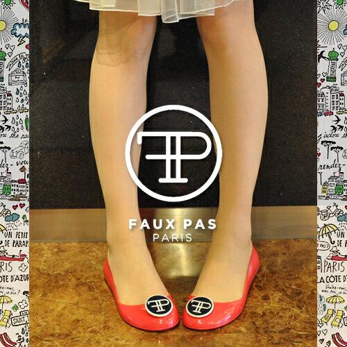 Faux Pas Paris Opera Flat Shoes