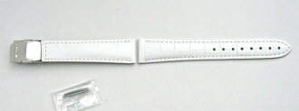 possible [Order product] mounting genuine band Casio SHN-5012LP-7A only white leather band 18 mm wide also (10,357,344) / Oceanus OCW-10LJ-7AJF