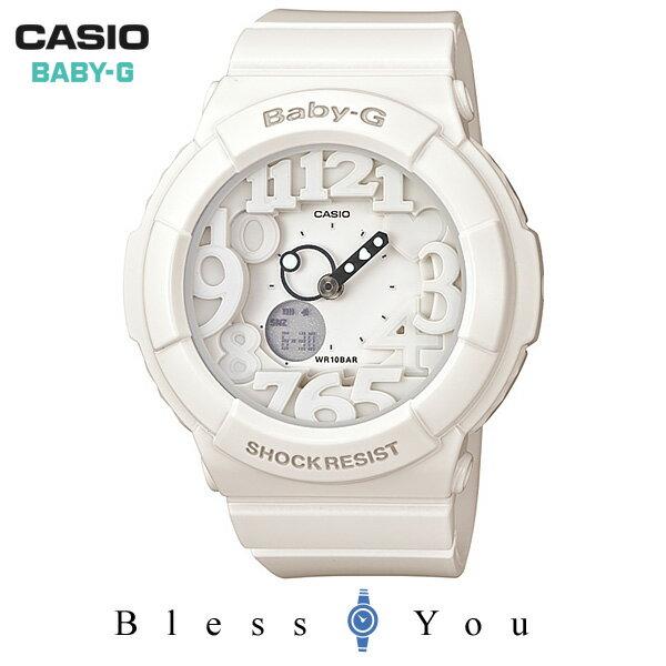 ベビーG カシオ レディース ウォッチ ホワイト BGA-131-7BJF 13,5