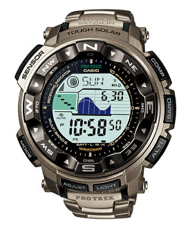Protrek orientation, pressure, advanced and temperature and moon phase and tide graph function 20 ATM water resistant type PROTREK PRW-2500T-7JF brand new stock