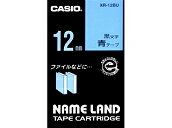 Nemurando tape Casio 12mm wide tape blue / black letters XR-12BU