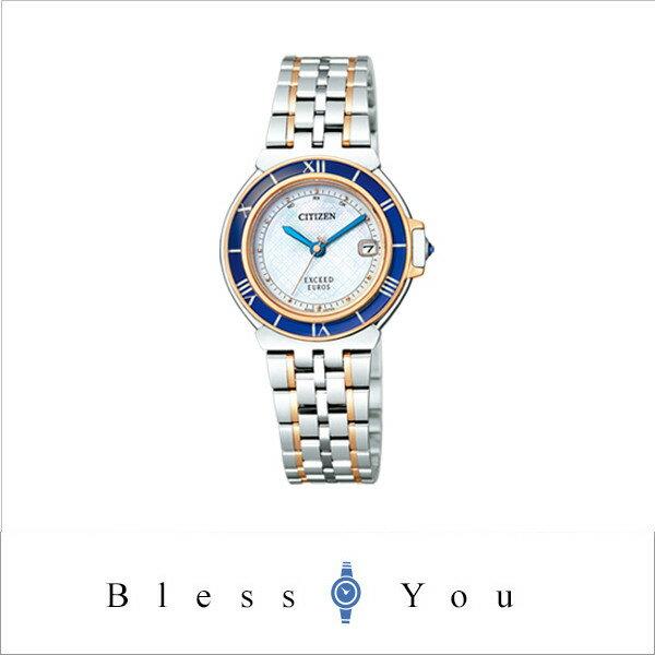 [シチズン]CITIZEN 腕時計 EXCEED EUROS エクシード ユーロス Eco-Drive エコ・ドライブ 電波時計 ペアモデル ES1035-52A レディース [シチズン]CITIZEN 腕時計 エクシード ユーロス 新品お取寄品