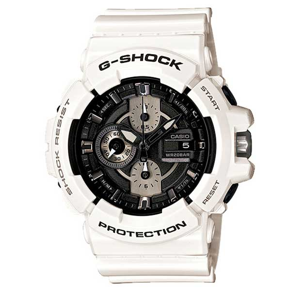 G shock g-shock 'White and Black Series white & Black series' GAC-100GW-7AJF brand new stock