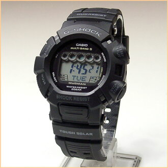 G-Shock watch G-SHOCK MUDMAN Mad Man solar radio watch GW-9000-1JF [Order product] Gift your new