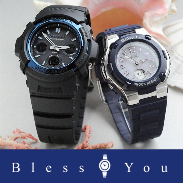 Gショック&ベビーG ペアウォッチ ソーラー電波時計 G-SHOCK&BABY-G AWG-M100A-1AJF-BGA-1100-2BJF 47,0 【腕時計 ペア カップル ウォッチ ブランド ギフト ペア腕時計】