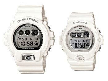 Gショック&ベビーGデジタルペアウォッチ/DW-6900MR-7JF-BG-6900-7JF/腕時計/ペア/カップル/ウォッチ/ブランド