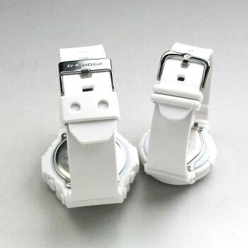 ジーショックペアウォッチ腕時計ペアg-shock白baby-g白GA-150-7AJFBGA-131-7BJF【あす楽】送料無料カップル
