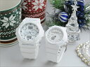 Bond of G-Shock & baby G two, snow-white pair watch GA-150-7AJF-BGA-131-7BJF pair watch couple watch brand