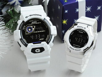 G shock & baby G White palocci solar radio watch GW-8900A-7JF_BGD-1300-7BJF gift pair watches couple watches brand