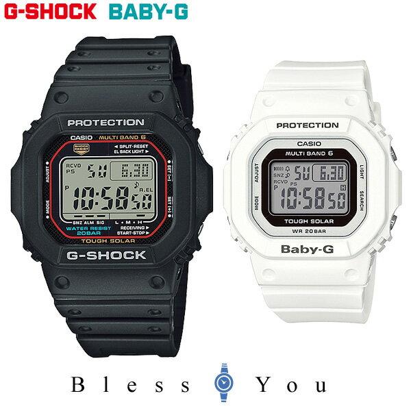 ペアウォッチ gショック g−shock 電波 ソーラー G-shock & Baby-G GW-M5610-1JF-BGD-5000-7JF 38,0
