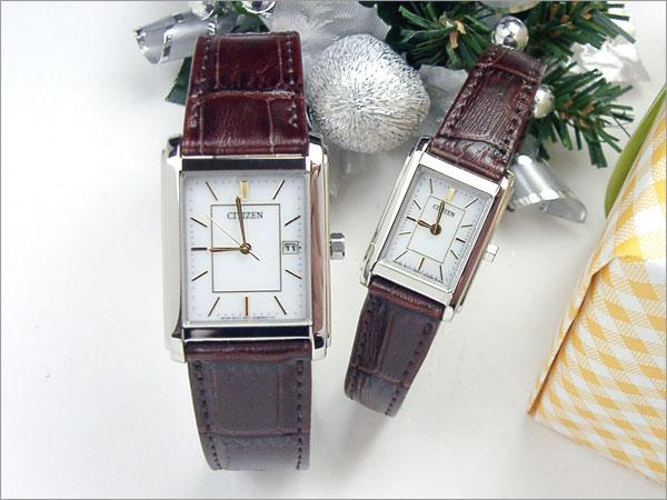 FRA59-2492-FRA36-2492 genuine% OFF Gift pair couple watch watch brand order Citizen Forma solar pair watch Japan get free shipping new