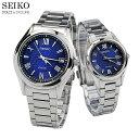 セイコー ドルチェ エクセリーヌ ペアウォッチ Navy ソーラー電波時計 腕時計 SEIKO SADZ197-SWCW147 200,0 ペア カップル ブランド ウォッチ