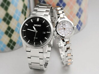 Seiko Spirit Tise pair watch SBPN073-SWFA105 (SBPN023-SWFA037) Gift [pair couple watch watch brand]
