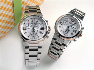 Citizen cross sea solar pair watch Japan free shipping citizen xc XCH38-8923-XCH38-8933 genuine% OFF Gift pair couple watch watch brand