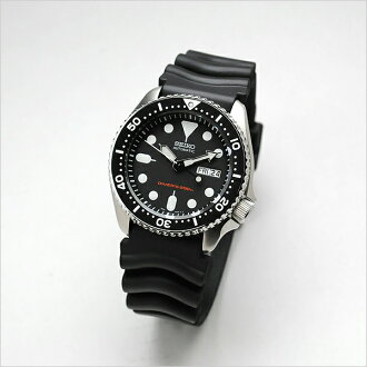 SEIKO reimportation diver's watch mechanical self-winding watch SKX007KC country guarantee memo
