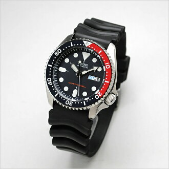 SEIKO diver reimportation mechanical self-winding watch SKX009KC country guarantee memo