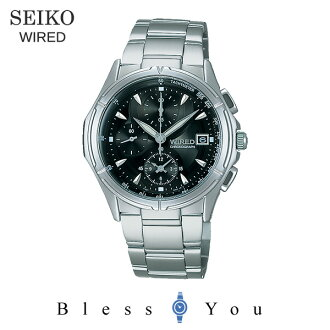 Seiko wired watch chronograph black WIRED AGBV139