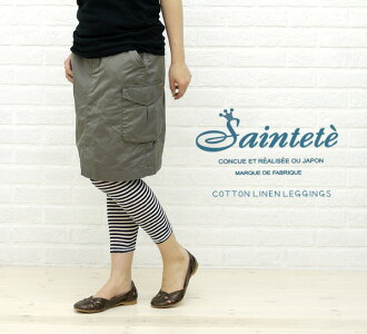 Saintete( sun Tete) cotton hemp leggings, RC003-1461101