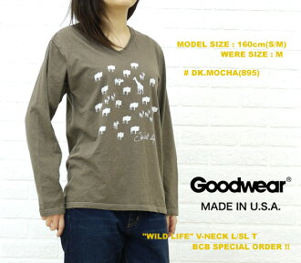 "■ ■ ☆ ☆ Another BCB note * GOODWEAR (good are) ""WILDLIFE"" size: V-NECKL/SLT, NGW1151G0685-0341201"