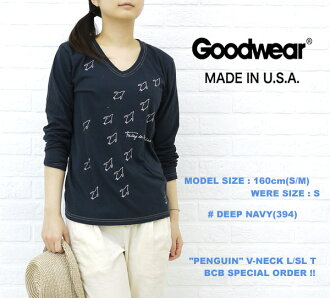 "■ ■ ☆ ☆ Another BCB note * GOODWEAR (good are) ""PENGUIN"" size: V-NECKL/SLT, NGW1151G0695-0341201"
