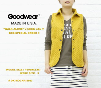 "☆ ☆ Another BCB note * GOODWEAR (good are) ""WALKALONE"" size: V-NECKL/SLT, NGW1151G0955-0341201"