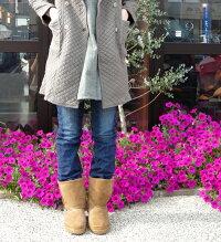 MINNETONKA(ミネトンカ) L'S SHEEPSKIN PUG BOOTS 9・#357X