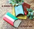 【クーポン対象外】IL BISONTE(イルビゾンテ)スライド式カードケース・5402300093【レディース】【楽ギフ_包装】【RCP】