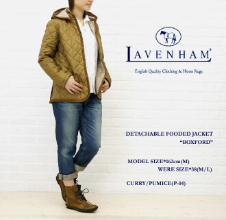 LAVENHAM(라벤함) DETACHABLE FOODED JACKET・BOXFORD-WKNCSTY001