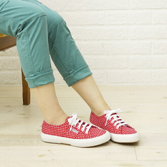 SUPERGA (Superga) cotton dot print canvas sneaker-S001W00-0241301