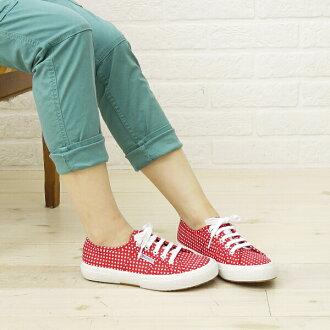 SUPERGA (Superga) cotton dot print canvas sneaker-S001W00-0241301