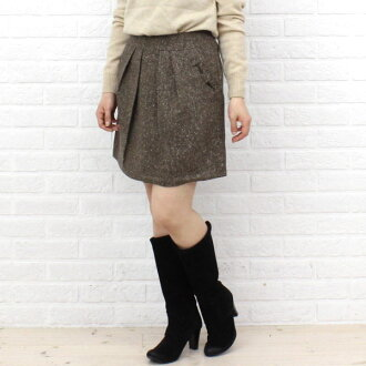 Innowave (イノウェーブ) Tweed Ribbon skirt-88-8742