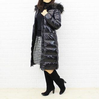 "DUVETICA (duvetica down) nylon down fur hood coat ""ALIA""-ALIA-2241302"