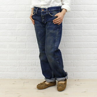 "chimala (chimala) denim vintage straight cut ""SALVEDGE DENIM VINTAGE STRAIGHT CUT"", CS16-WP 02A-2961302"