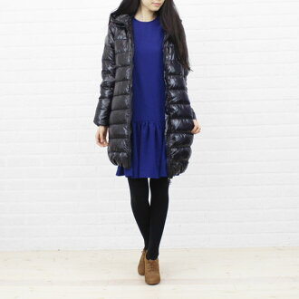 "DUVETICA( デュベティカ) nylon down hooded middle length coat ""ACEQUATTRO"", ACEQUATTRO-0061302 fs3gm"