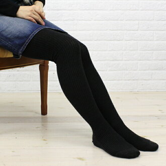 "FALKE (Falke) wool cotton solid rib tights ""SOFTMERINO RIB""-48455-0321302"