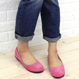 "FS/NY (FS slash enough) suede ballet shoes ""SLOOP SUEDE""-SLOOP-SUEDE-0811202"