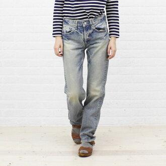 ■ ■ D.M.G(Domingo) standard straight denim pants cotton 5 p-a-11-136 1271302