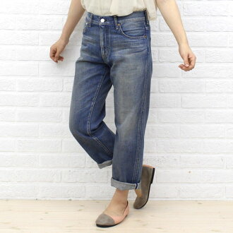 "caqu( サキュウ) cotton nine minutes length denim underwear ""FS Roll-up Boys(3years)"" .26004-20 -2,291,302"