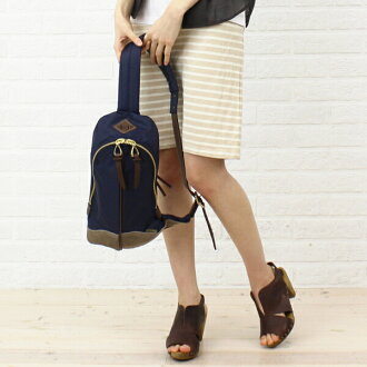 "Body EVER KHAKI (エバーカーキ) nylon shoulder bag ""day tripper classic"", EK-0041-1471302"