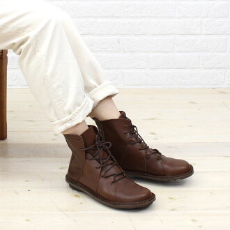 "TRIPPEN (trippen) leather lace-up booties ""NOMAD""-NOMAD-WAW-0071302"