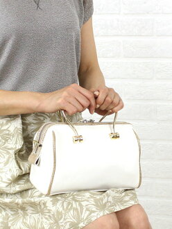 Le vernis (Le Berni) leather 2-WAY Boston bag-55-0810-3181401