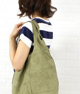 SEASIDE FREERIDE (シーサイドフリーライド) sheep leather suede tote bag-5343200538-0061401