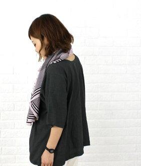 TRAVAIL MANUEL (トラヴァイユマニュアル) linen cupra Dolman sleeve pullover-341032-3261401