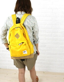 "Drifter (drifter) Nylon with front pocket backpack ""SUNNY DAY PACK""-DF1415-0241401"